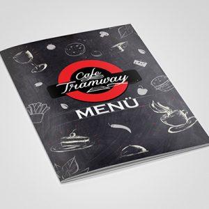 Kocaeli Menü Tasarım   Cafe Tramway